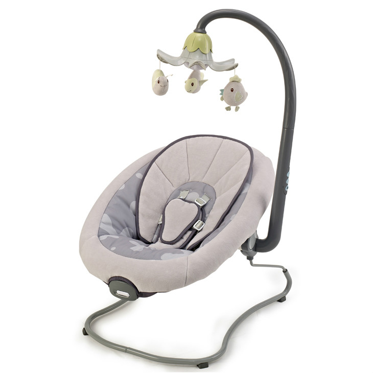 Baby bouncer with electric toys